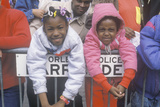 Two African-American Girls at the Mardis Gras Parade, New Orleans, La Photographic Print