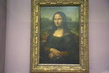 Mona Lisa by Leonardo Da Vince at the Louvre Museum, Paris, France Photographic Print