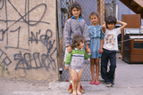 Children in Poverty, Los Angeles, CA Photographic Print