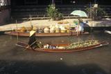 The Floating Market at Damnoen Saduak Outside of Bangkok, Thailand Photographic Print