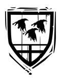 Heraldic Shield Ravens Posters par  JeffreyThompson