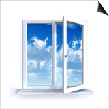 Open Window Print by  Serp