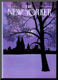 The New Yorker Cover - January 22, 1972 Mounted Print by Charles E. Martin