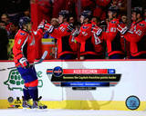 Alex Ovechkin becomes the Washington Capitals All-Time points leader on November 4, 2014 Photo