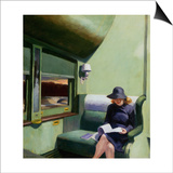 Compartment C, Car 293 Posters by Edward Hopper