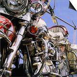 Motorcycle I Prints by David Parrish