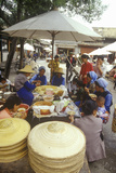 Lunchtime at Bei People's Marketplace in Dali, Yunnan Province, People's Republic of China Photographic Print