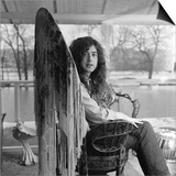 Guitarist Jimmy Page of Led Zeppelin's Birthday, January 9th Plakater