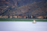 Fishing Junk on Erhai Lake in Dali, Yunnan Province, People's Republic of China Photographic Print