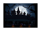Halloween Night Prints by  losw
