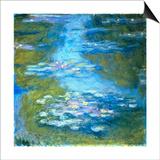 Nympheas Art by Claude Monet
