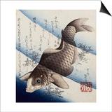 Bunshuro Tomoyoshi Posters by Katsushika Taito II