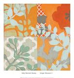 Ginger Blossom II Print by Sally Bennett Baxley