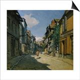 Rue de la Bavolle, Honfleur Posters by Claude Monet