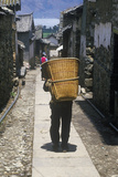 Bei Minority Group in Bei People's Village in Dali, Yunnan Province, People's Republic of China Photographic Print