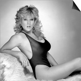 Glamour Model Samantha Fox at Daily Mirror Studio Shoot Wearing Swimsuit Posters