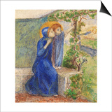Madonna and Child, C.1855 Poster by Elizabeth Eleanor Siddal