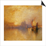 Opalescent Venice Prints by Thomas Moran