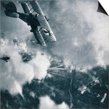 Aerial Combat on the Western Front, WWI Photogravure Prints by  Stapleton Collection