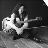 The Birthday of Jimmy Page, Led Zeppelin Guitarist Poster