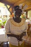 Nobel Peace Prize Winner, Wangari Maathai at Norfolk Hotel Meeting in Nairobi, Kenya, Africa Photographic Print
