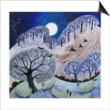 First Snow Surrey Hills Prints by Lisa Graa Jensen