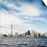 Skyline of Toronto, Ontario, Canada with Lake Ontario Prints by Christopher Stevenson