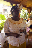 Nobel Peace Prize Winner, Wangari Maathai at Norfolk Hotel Meeting in Nairobi, Kenya, Africa Photographic Print