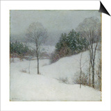 The White Veil, 1909 Posters by Willard Leroy Metcalf