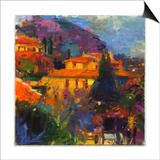 St Paul De Vence Prints by Peter Graham