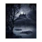Castle in the Swamp. Print by  franciscah