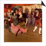 Marcelle Lender Dancing the Bolero in 'Chilperic', 1895 Póster por Henri de Toulouse-Lautrec