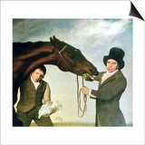 Hambletonian, c.1800 (Detail) Prints by George Stubbs