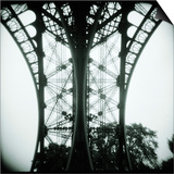 Detail of Eiffel Tower Prints by Kurt Stier