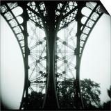 Detail of Eiffel Tower Prints by Kurt Stier