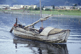 Fishermen on Erhai Lake in Dali, Yunnan Province, People's Republic of China Photographic Print