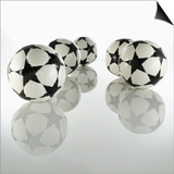 Five Soccer Balls Print by  Newmann