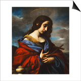 Saint Mary Magdalen Posters af Carlo Dolci