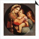 Madonna Della Sedia Prints by  Raphael