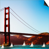 Golden Gate Bridge Posters by  JoSon