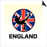 England Soccer Prints