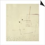 Arich Hier Eim Gesicht Poster by Paul Klee