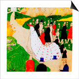 The Wedding, 1907 Prints by Kasimir Malevich