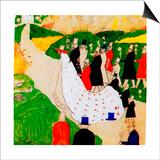 The Wedding, 1907 Prints by Kasimir Malevich
