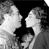 Mario Del Monaco and Maria Callas Posters