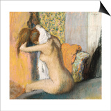 After the Bath (1898) Posters by Edgar Degas