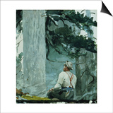The Guide, 1895 Poster by Winslow Homer