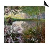 The Lake at Montgeron Prints by Claude Monet