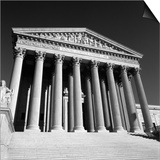 United States Supreme Court Exterior Prints