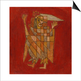 Allegorical Figure; Allegorische Figurine (Verblassung) Prints by Paul Klee